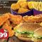 Burger Combo Box